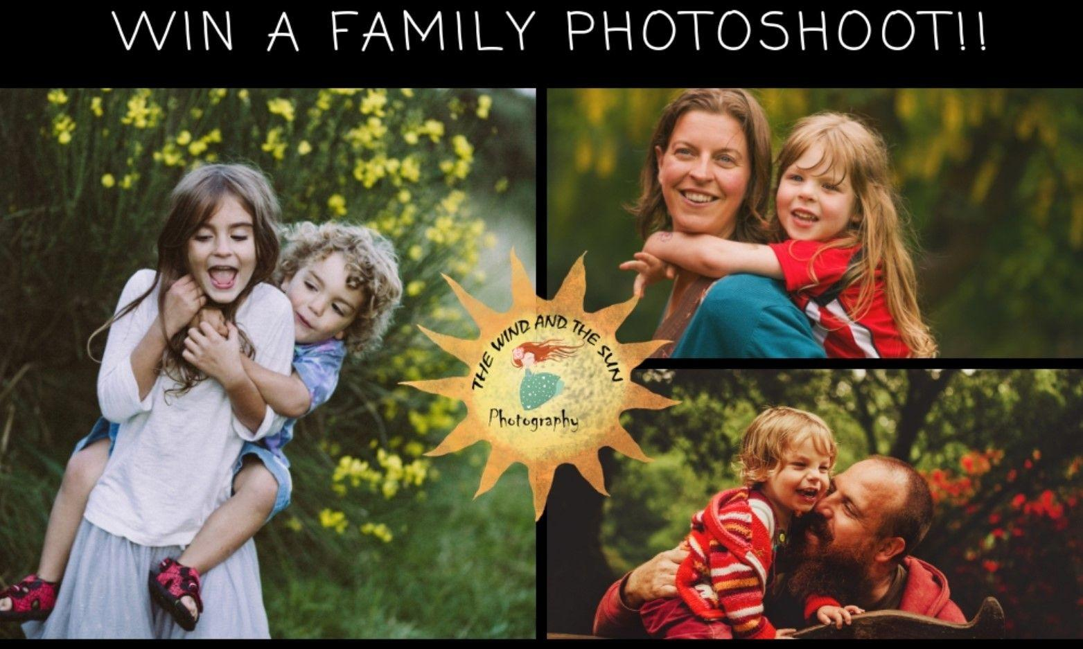 WIN a Family Photo Shot Sessions and Photos