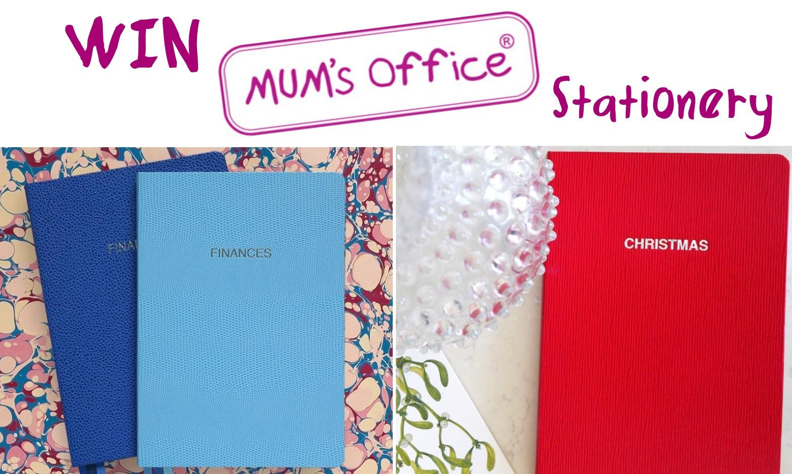 COMPETITION WIN a Mums Office BLOX Financial Diary and a MUMs Christmas Book