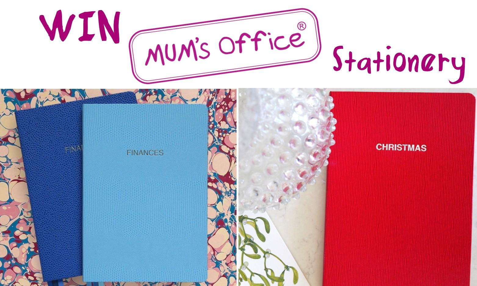 WIN a Mum's Office BLOX Financial Diary and a MUM's Christmas Book