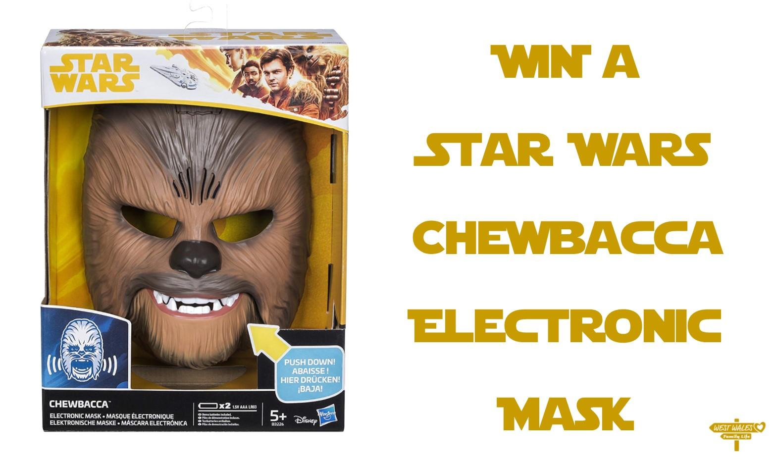 WIN a Star Wars the Force Awakens Chewbacca Electronic Mask