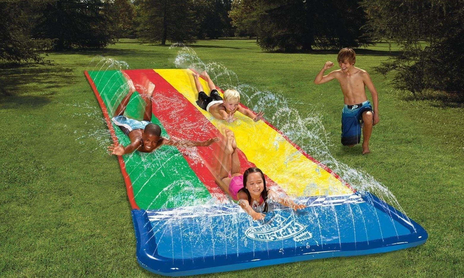 WIN an Extra Large Extreme Slip N Slide plus Water Balloons