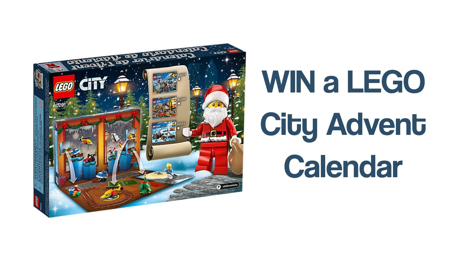 WIN a LEGO City Advent Calendar