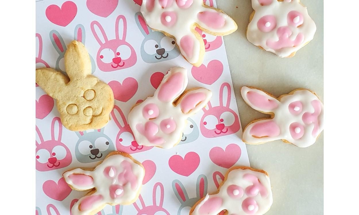 LATEST NEWS Lemon Rabbit Biscuit Recipe up close