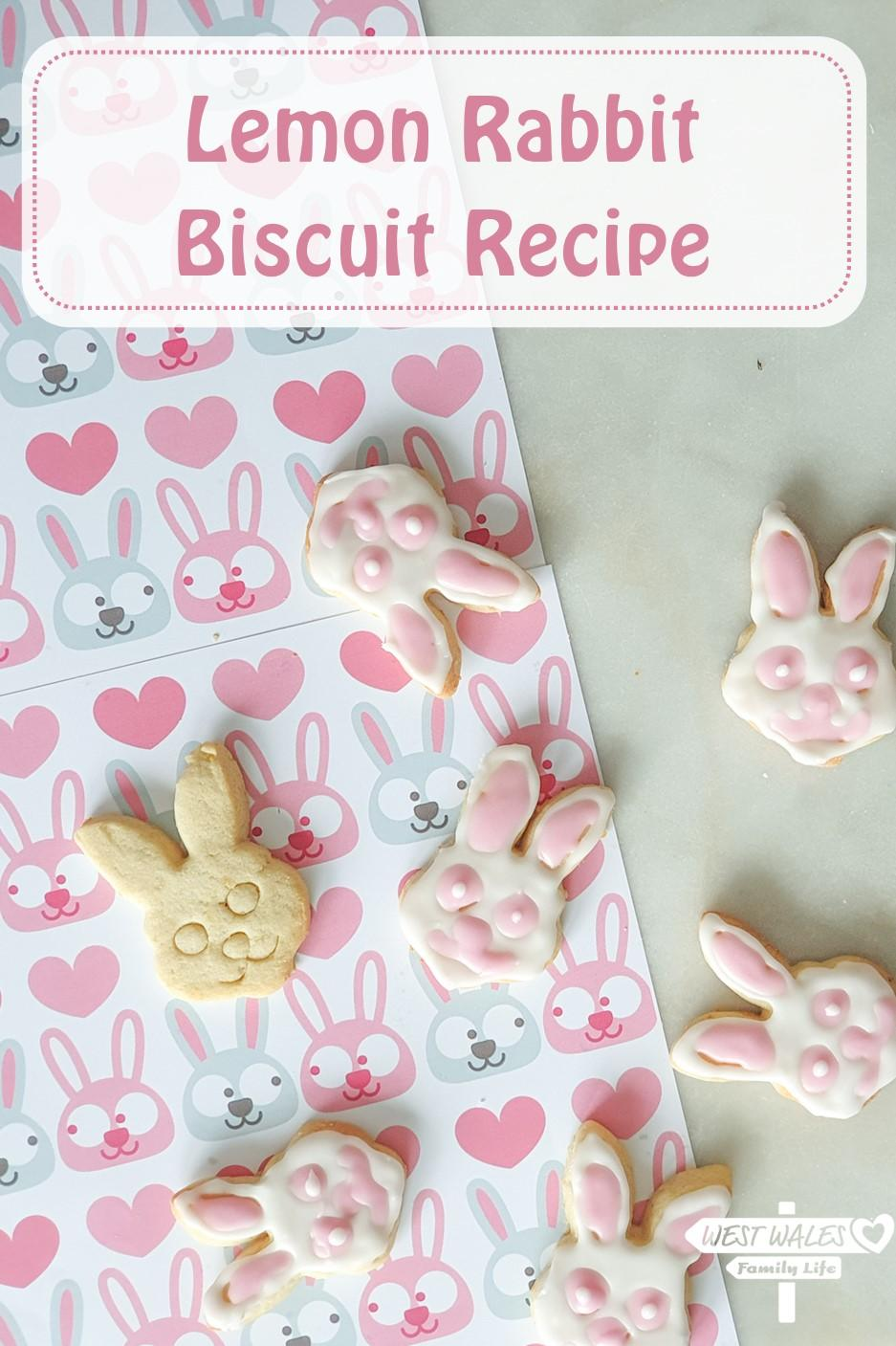Lemon Rabbit Biscuit Recipe on Pinterest