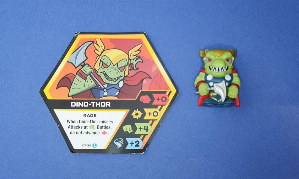 LATEST NEWS Marvel Battleworld Battle Ball Dino Thor Hero
