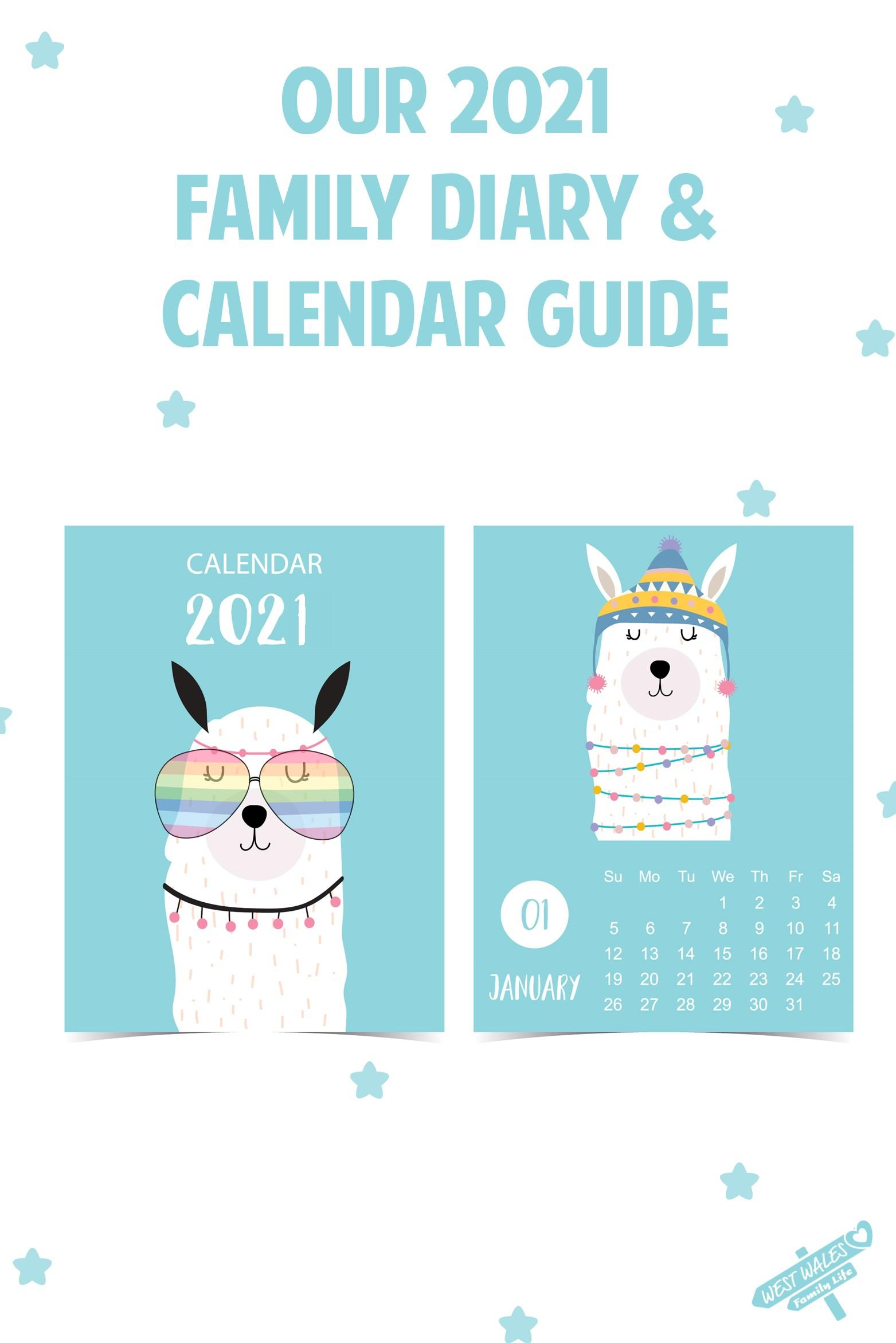 Pinterest Our 2021 Family Diary and Calendar Guide