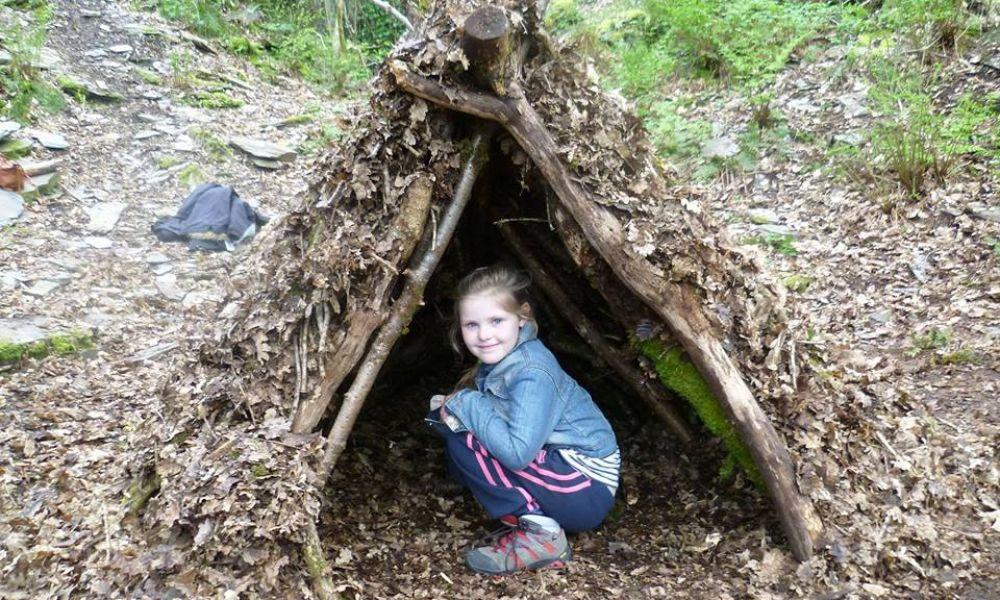 Shelter Building at Welsh Wildlife Centre