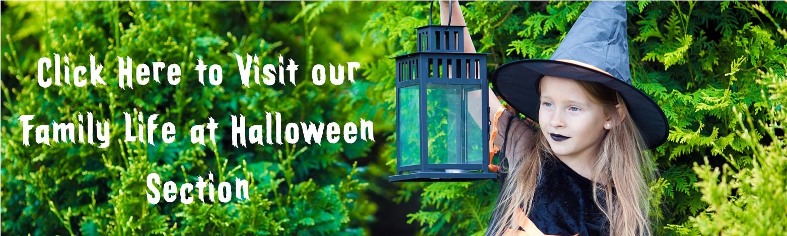 Family Life at Halloween Bottom Header