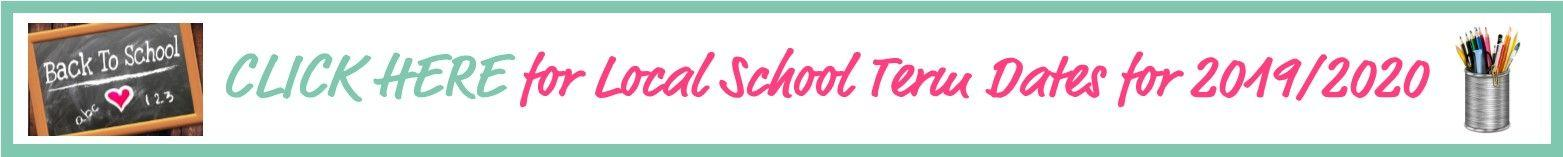 School Term Dates Thin Header