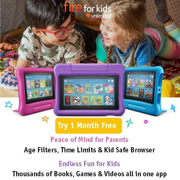 Amazon Kids Fire Unlimited