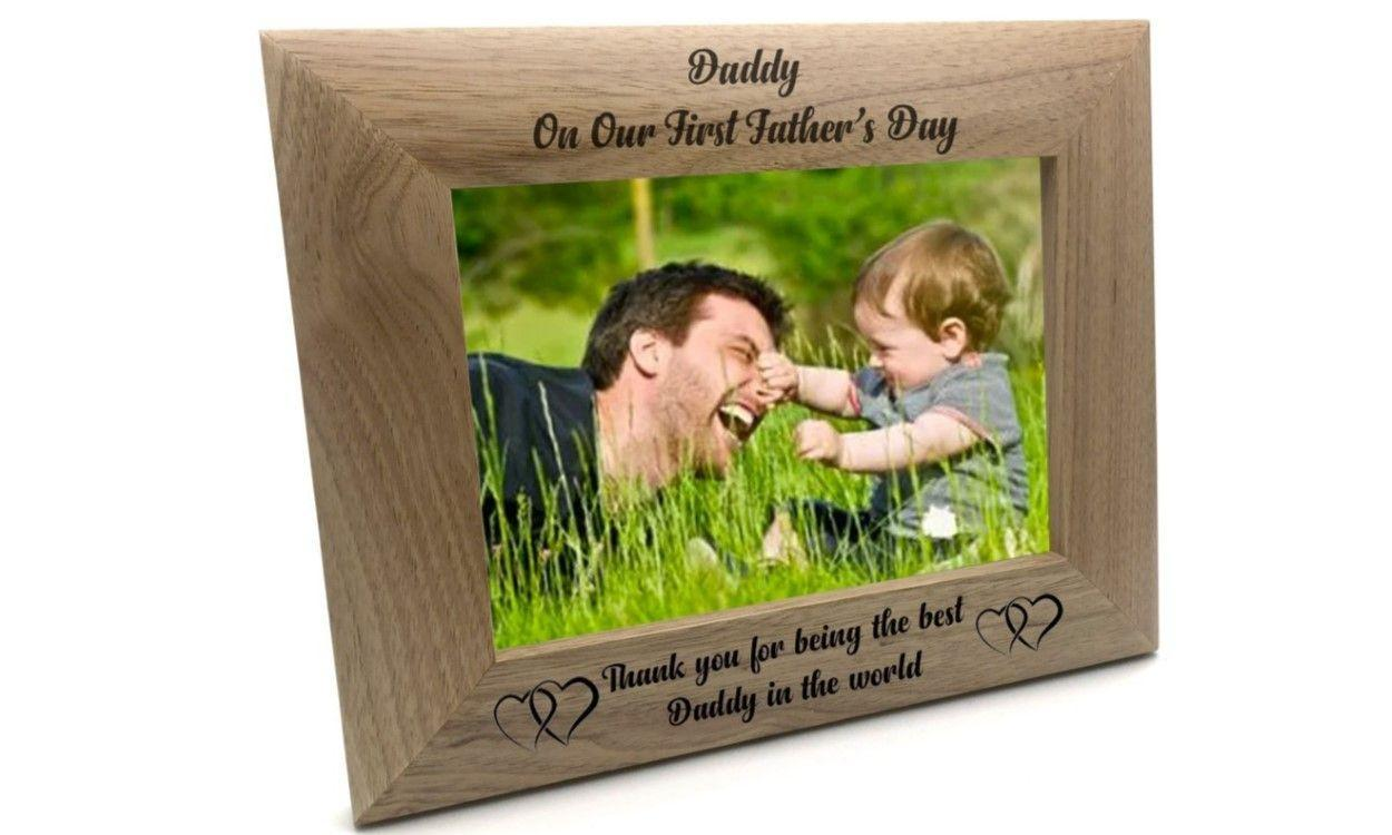 1st Fathers Day Poto Frame