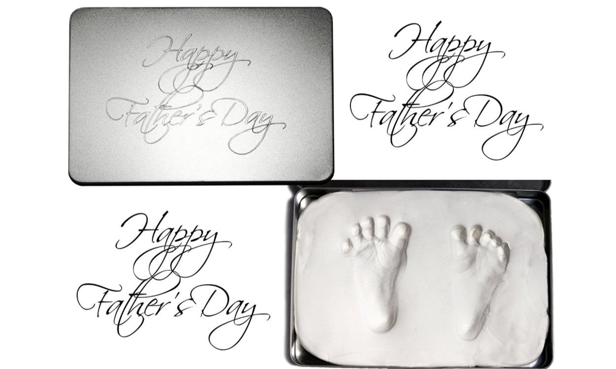 1st Fathers Day footprints
