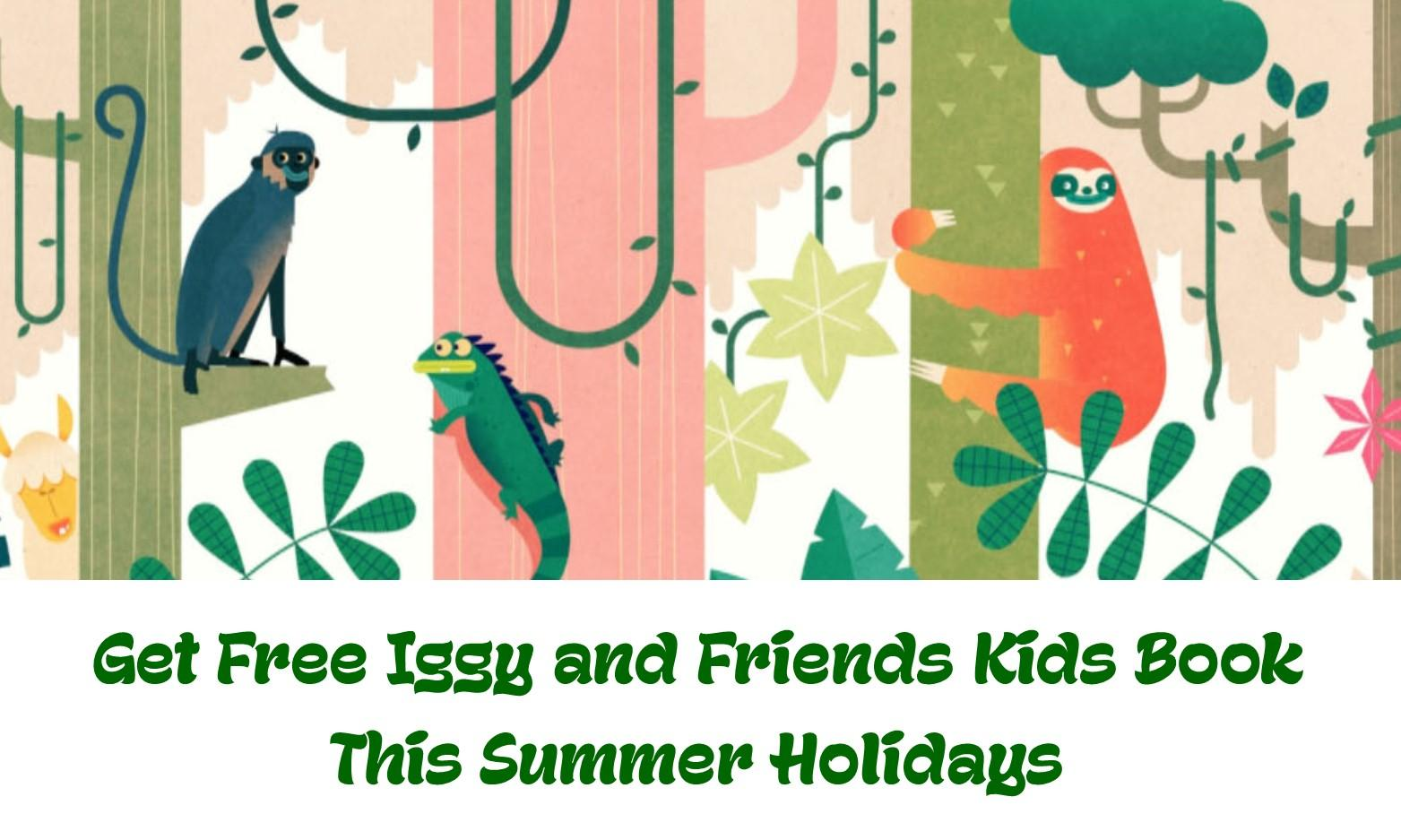 Get Free Kids Book this Summer Holidays at Las Iguanas