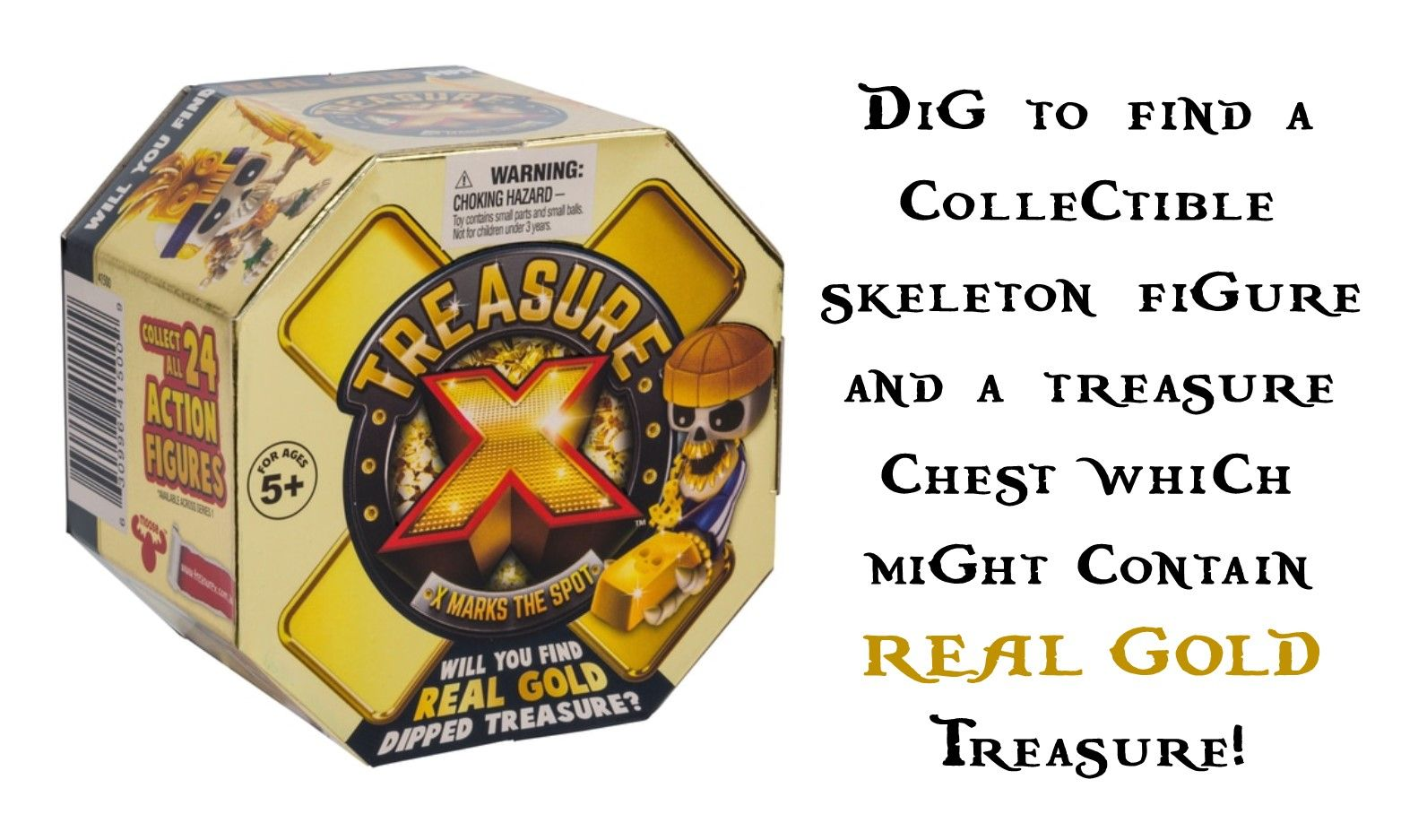 New Treasure X Toy is Predicated to be Next Big Must Have