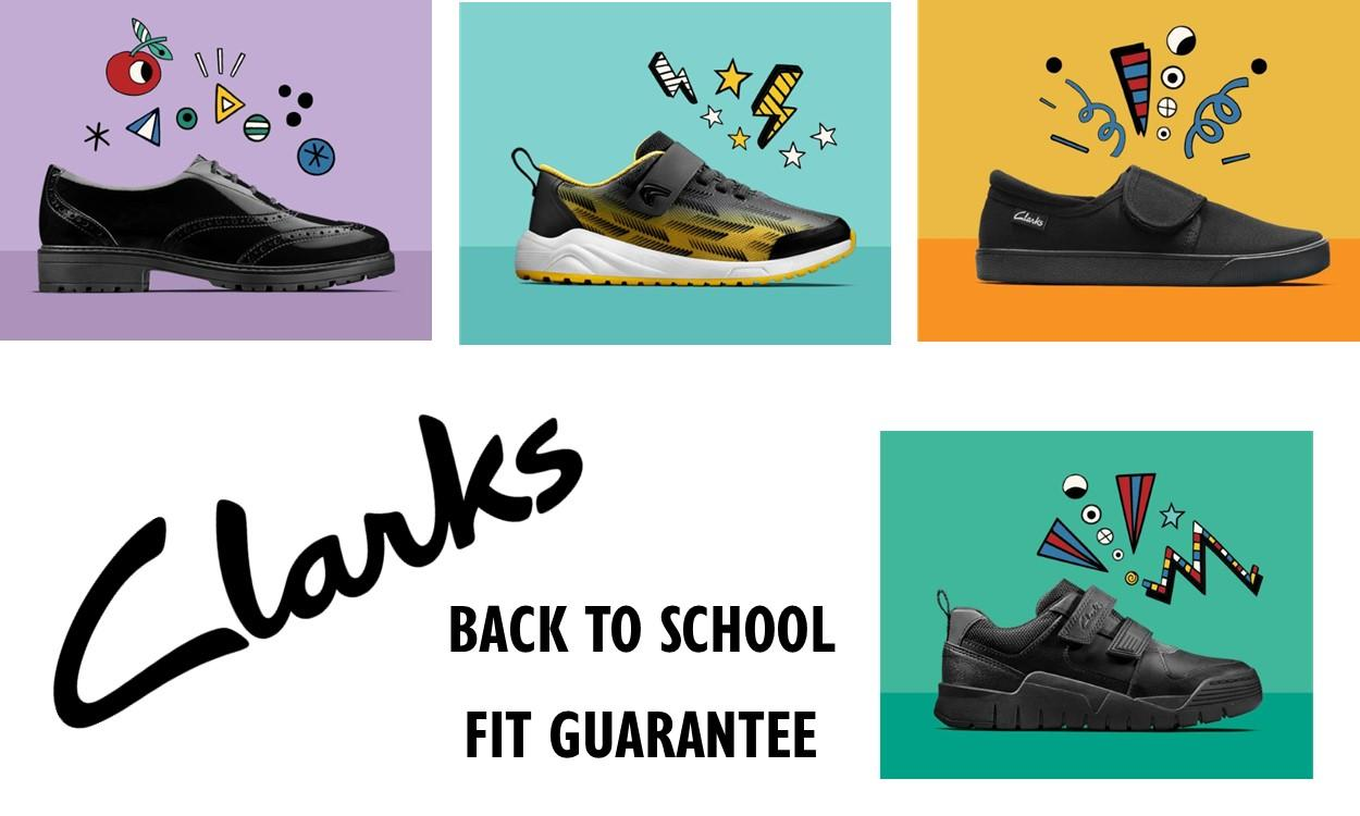 LATEST NEWS Clarks back to school fit guarentee