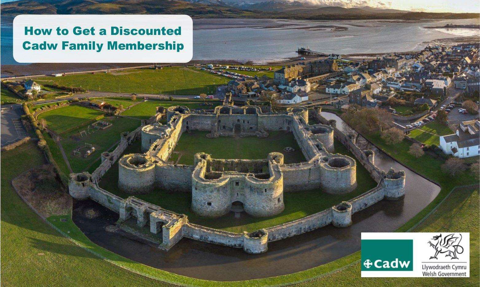 How to Get a Cadw Annual Family Membership from as little as £13.50