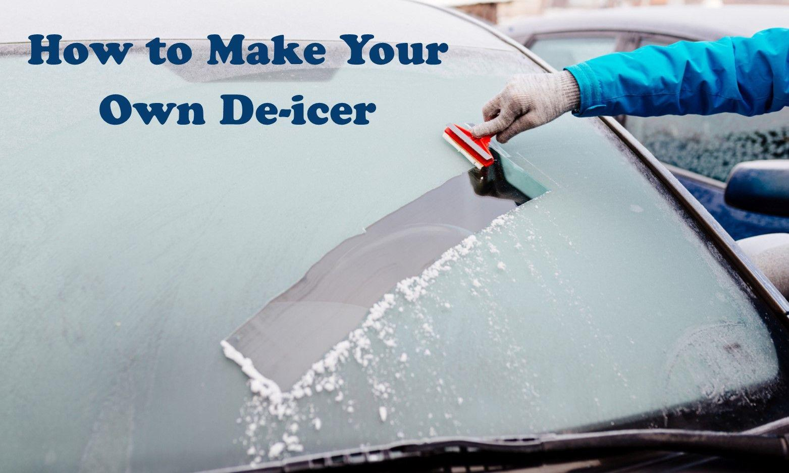 How to Make your Own Window De-icer and Save Money this Winter