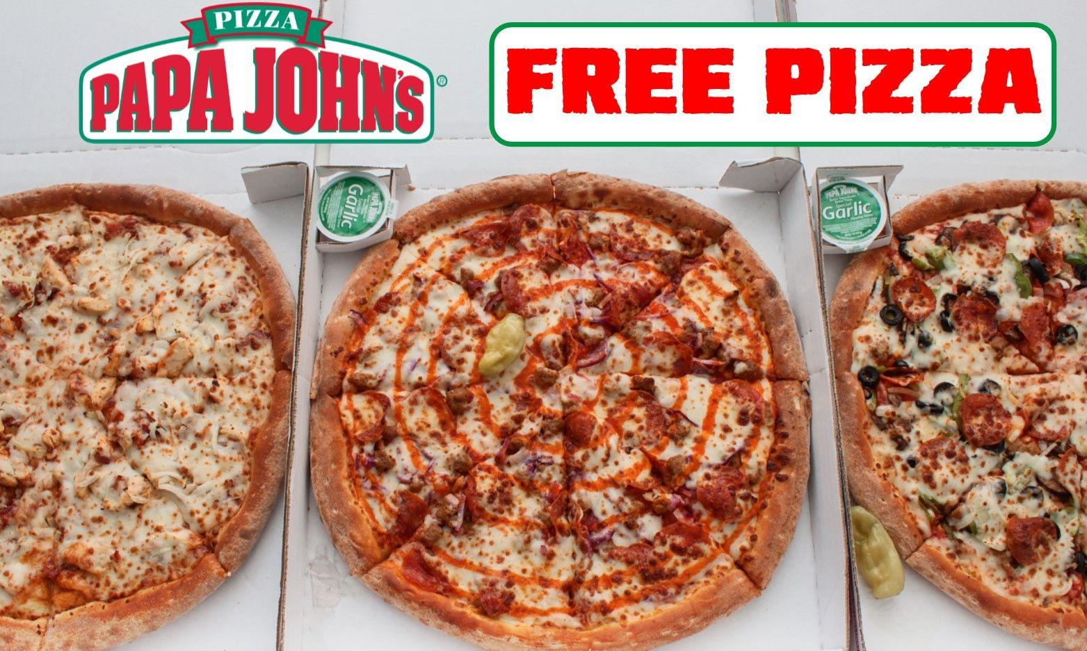 How to get FREE pizza as Papa John's gives away 400,000 slices this week