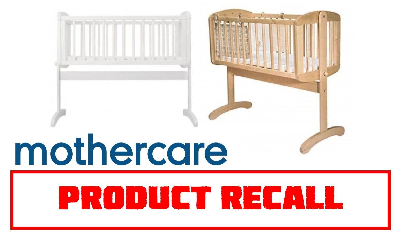 Mothercare Recall Baby Crib Due to Safety Fears