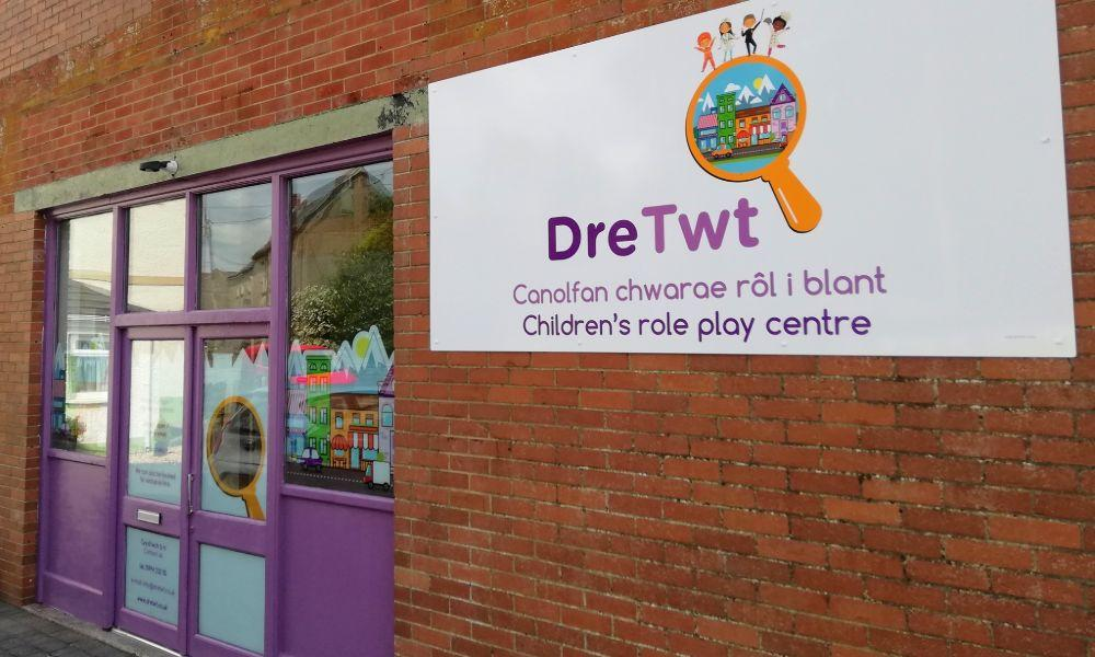 New Children's Role Play Centre Opening in St Clears