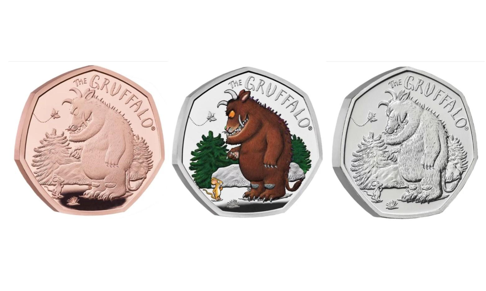 New Gruffalo and Mouse Coin Released by Royal Mint