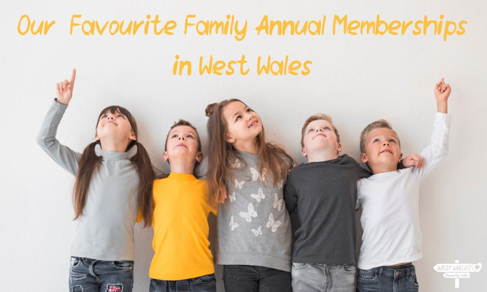 10 Favourite Family Annual Memberships in West Wales