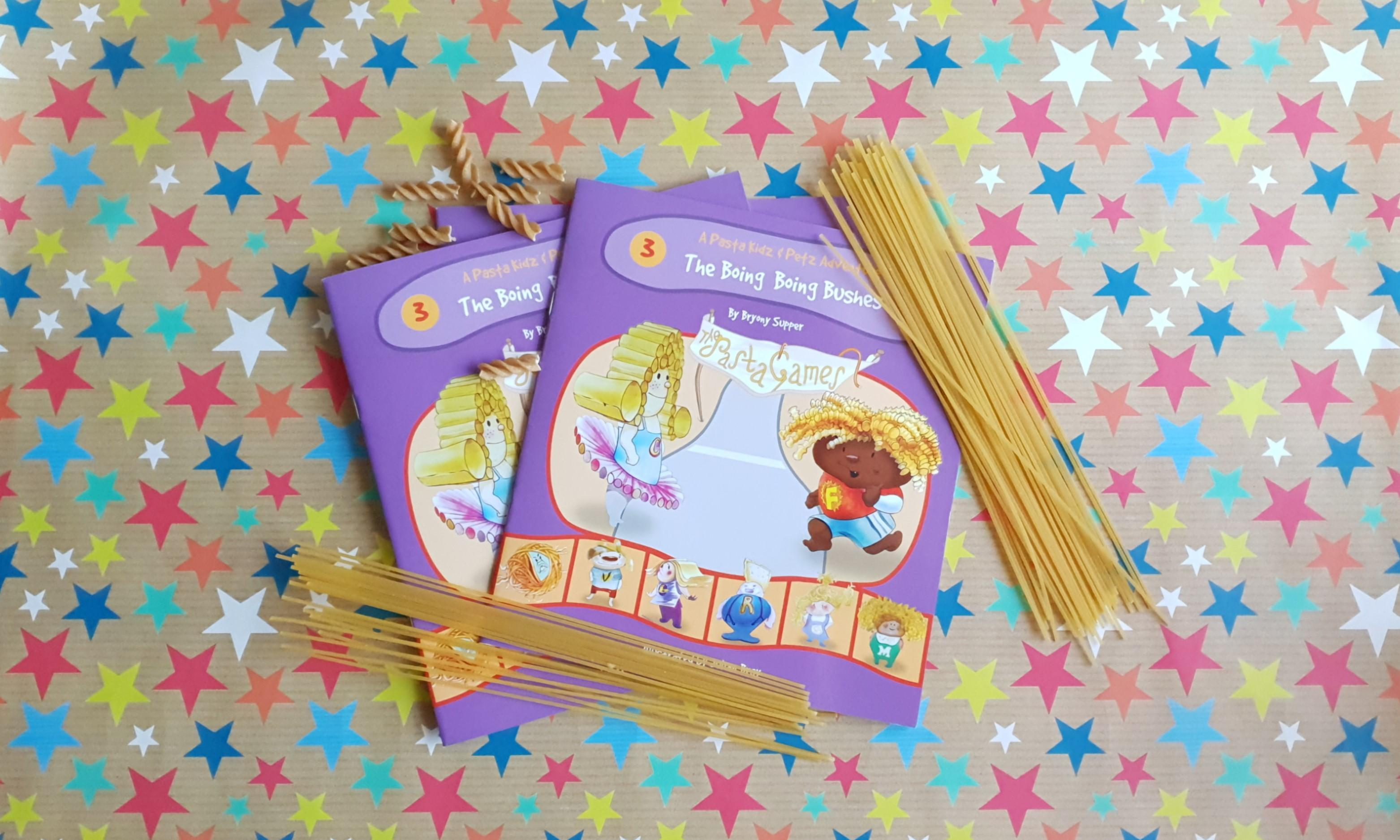 REVIEW: The Pasta Kidz Boing Boing Bushes Book