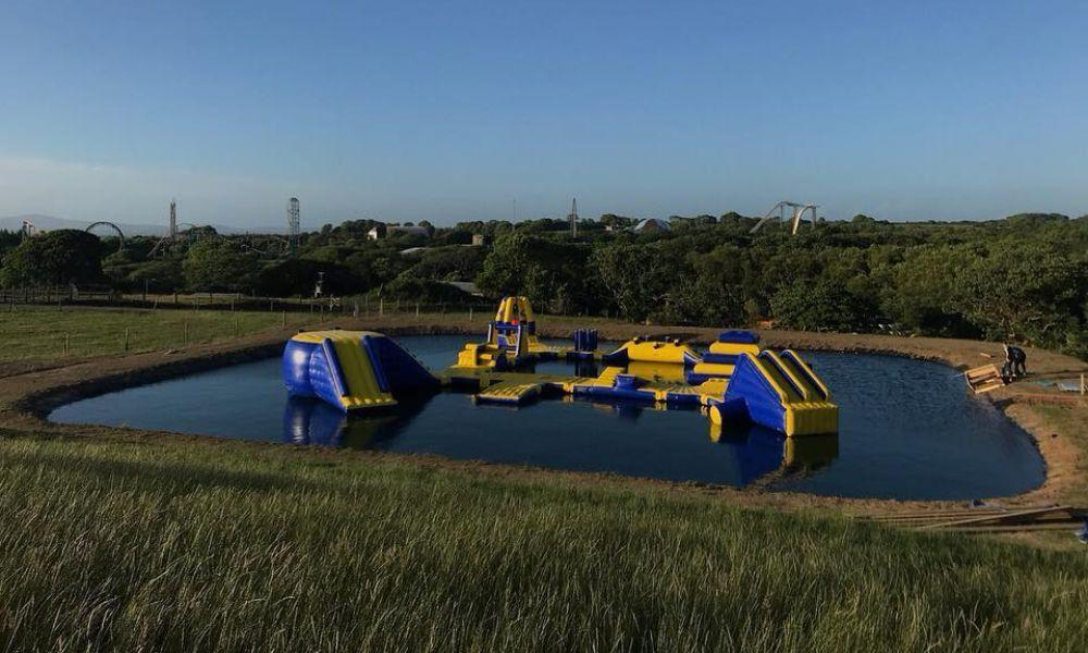 Wales' First Outdoor Aqua Park is Opening this Month