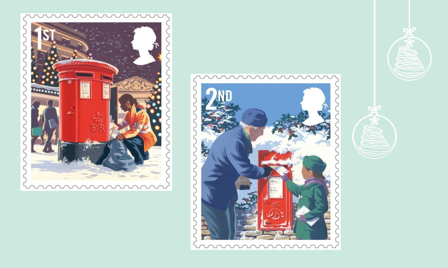 Royal Mail Release Christmas 2018 Stamps
