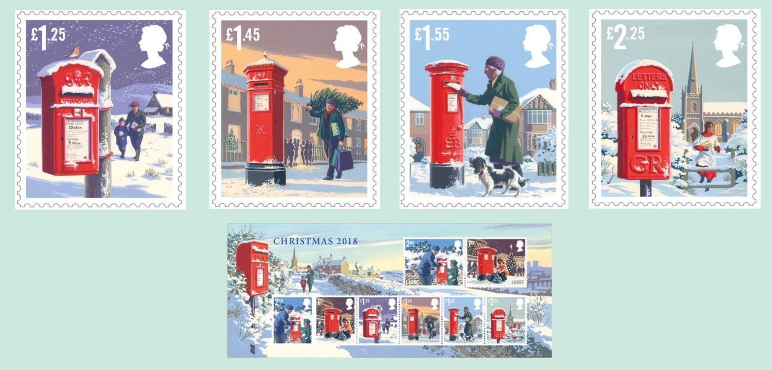 LATEST NEWS Royal Mail Release Christmas 2018 Stamps IN ARTICLE