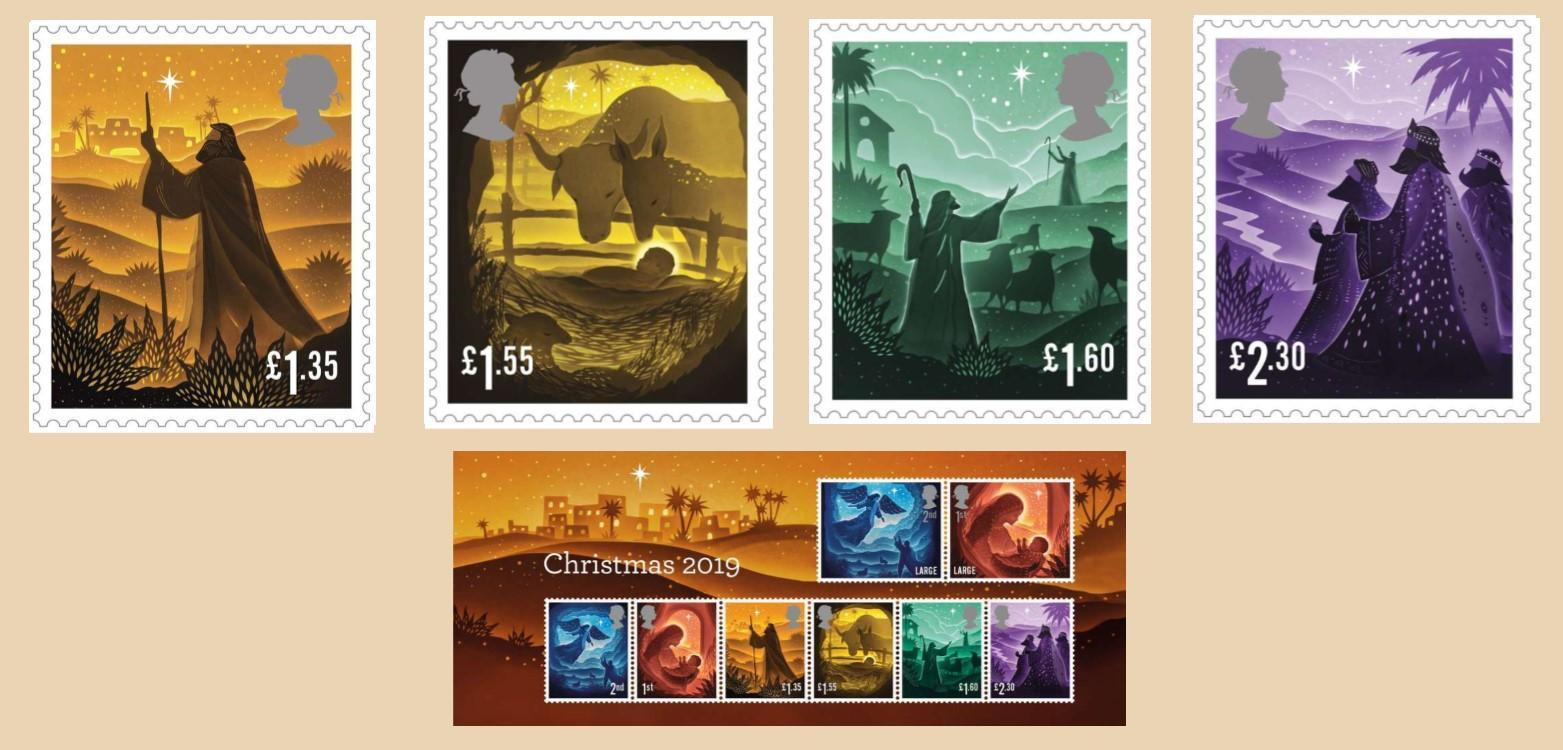 LATEST NEWS Royal Mail Release Christmas 2019 Stamps IN ARTICLE