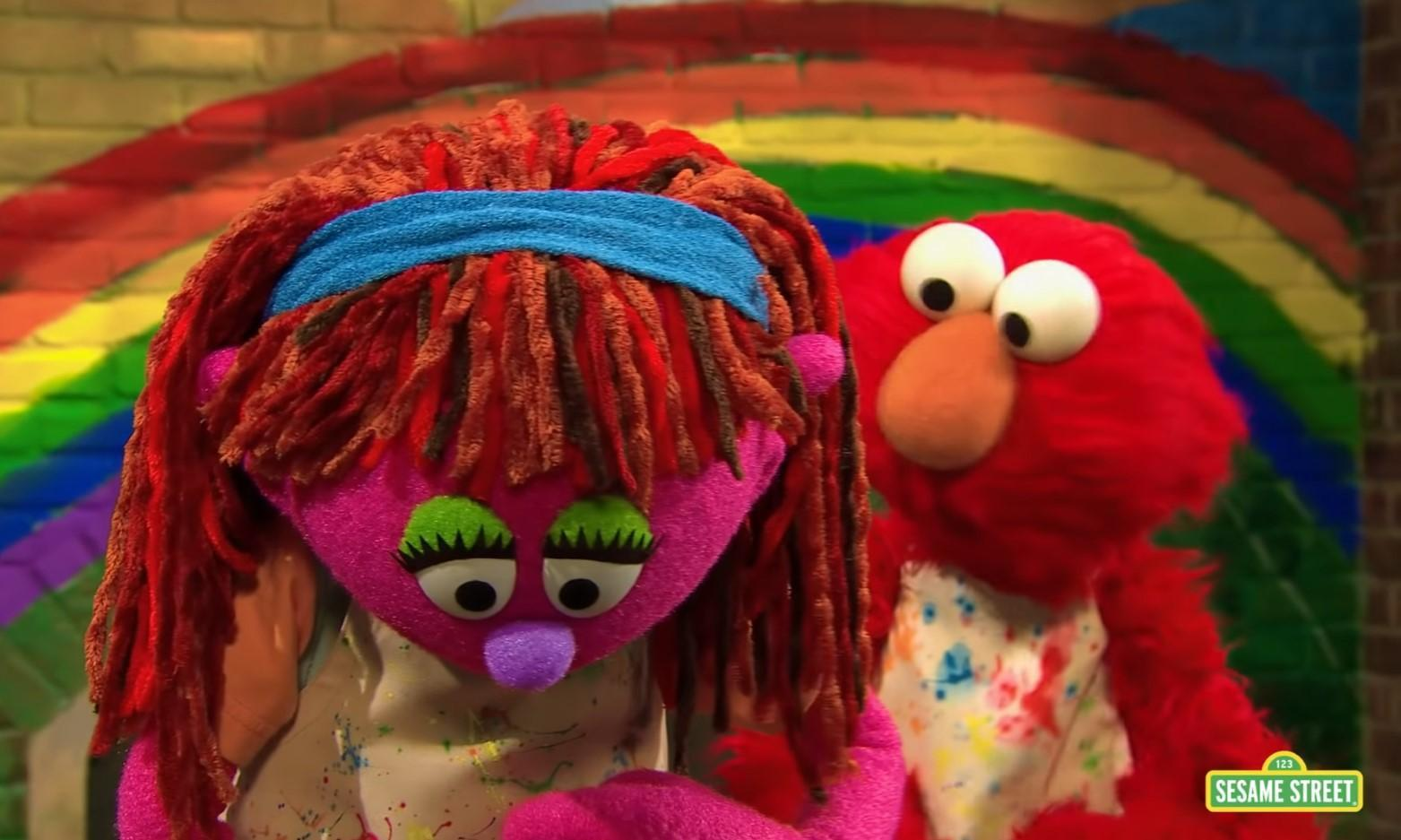 Sesame Street introduces the First Ever Homeless Muppet Lily