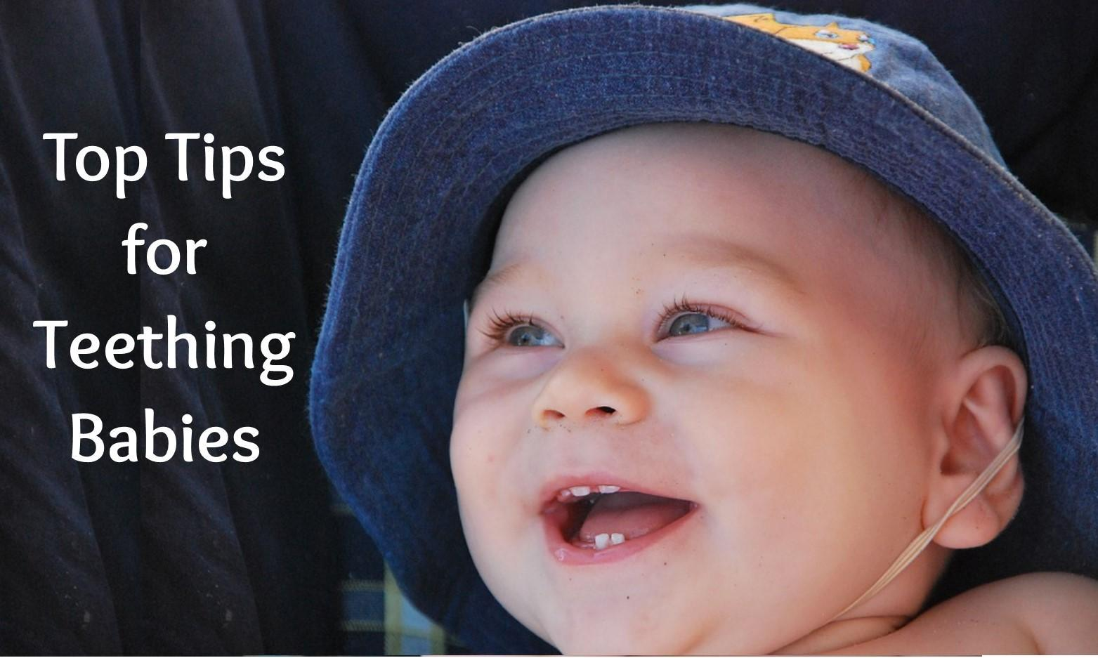 Top Tips for Teething Babies