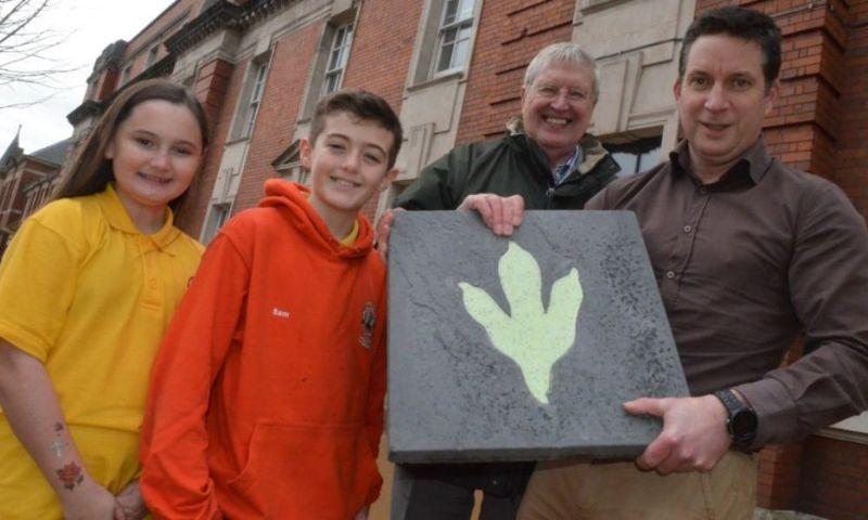 New Dragon Footprints to be included on Kingsway for Childrenin article