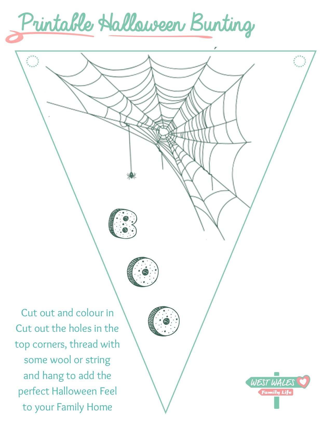 Printable Halloween Bunting 2