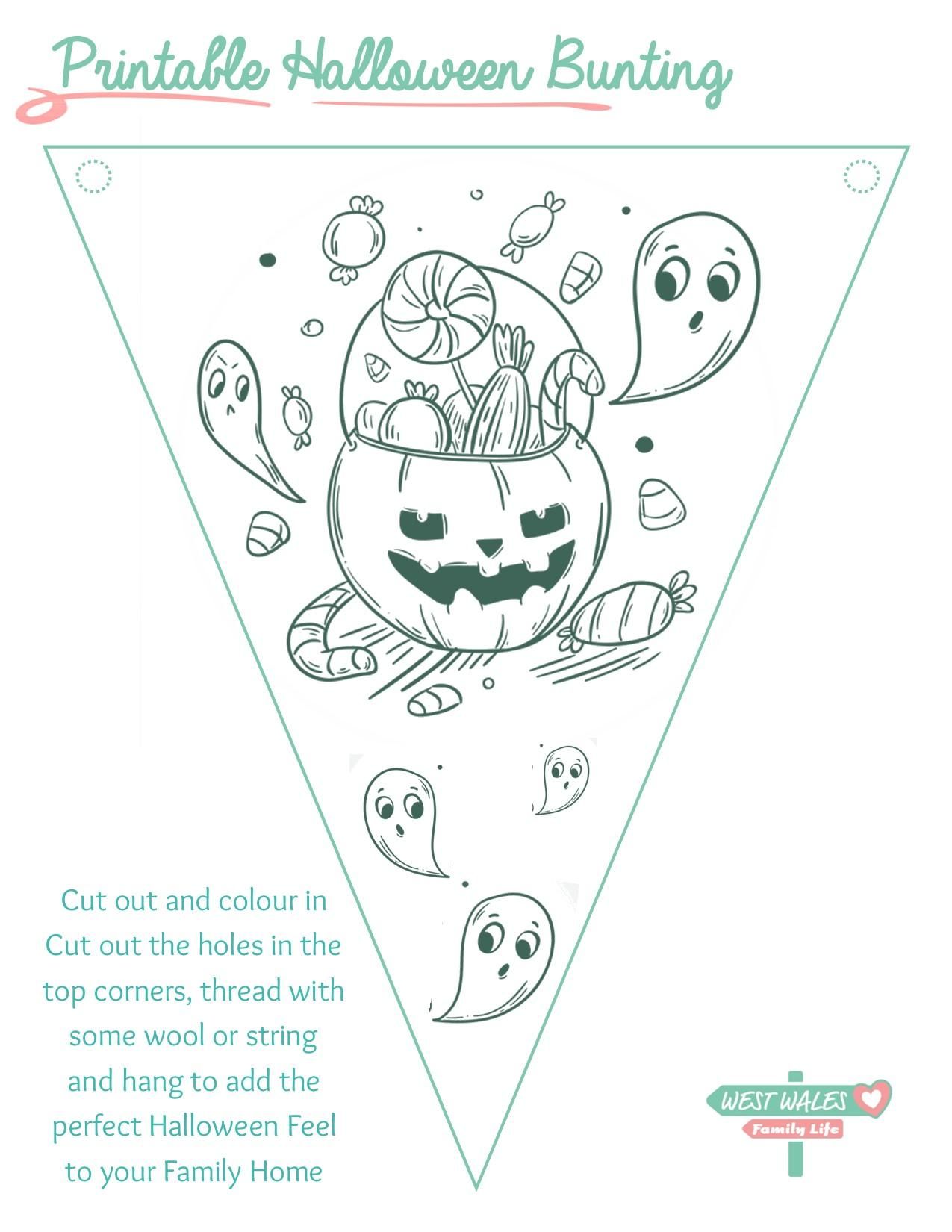 Printable Halloween Bunting 3