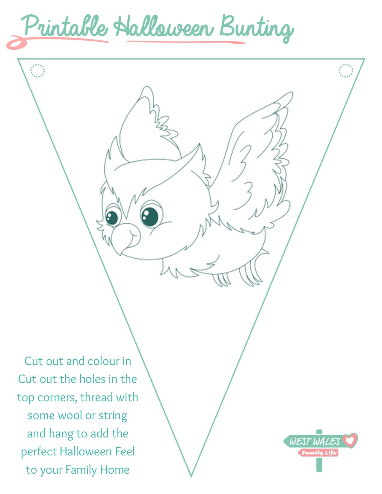 Printable Halloween Bunting 6