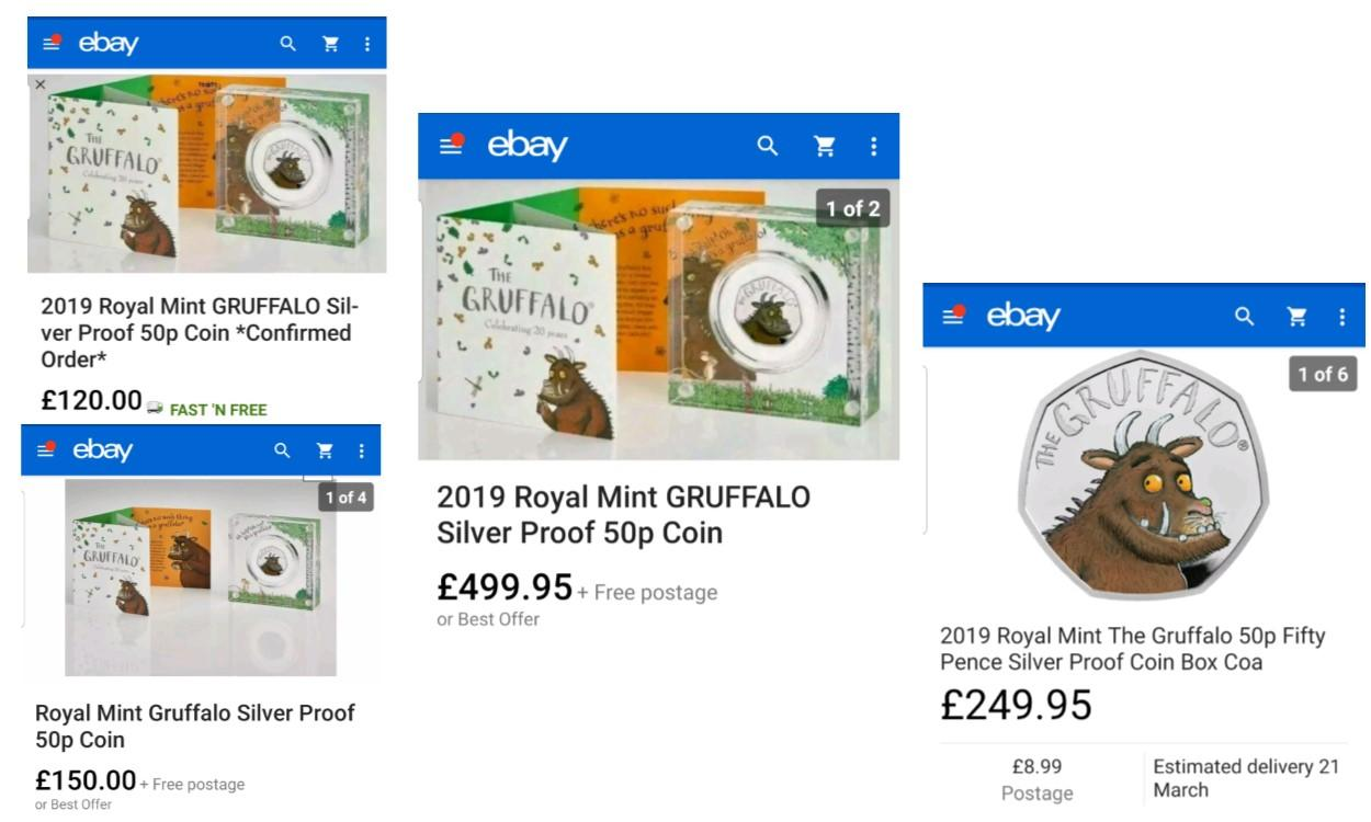 Royal Mint Releases a Gruffalo 50p Coin in article 2
