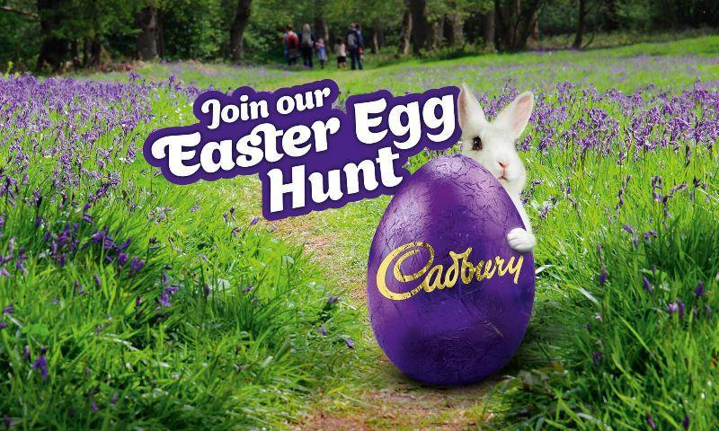 Take Part in Cadbury Easter Egg Hunt