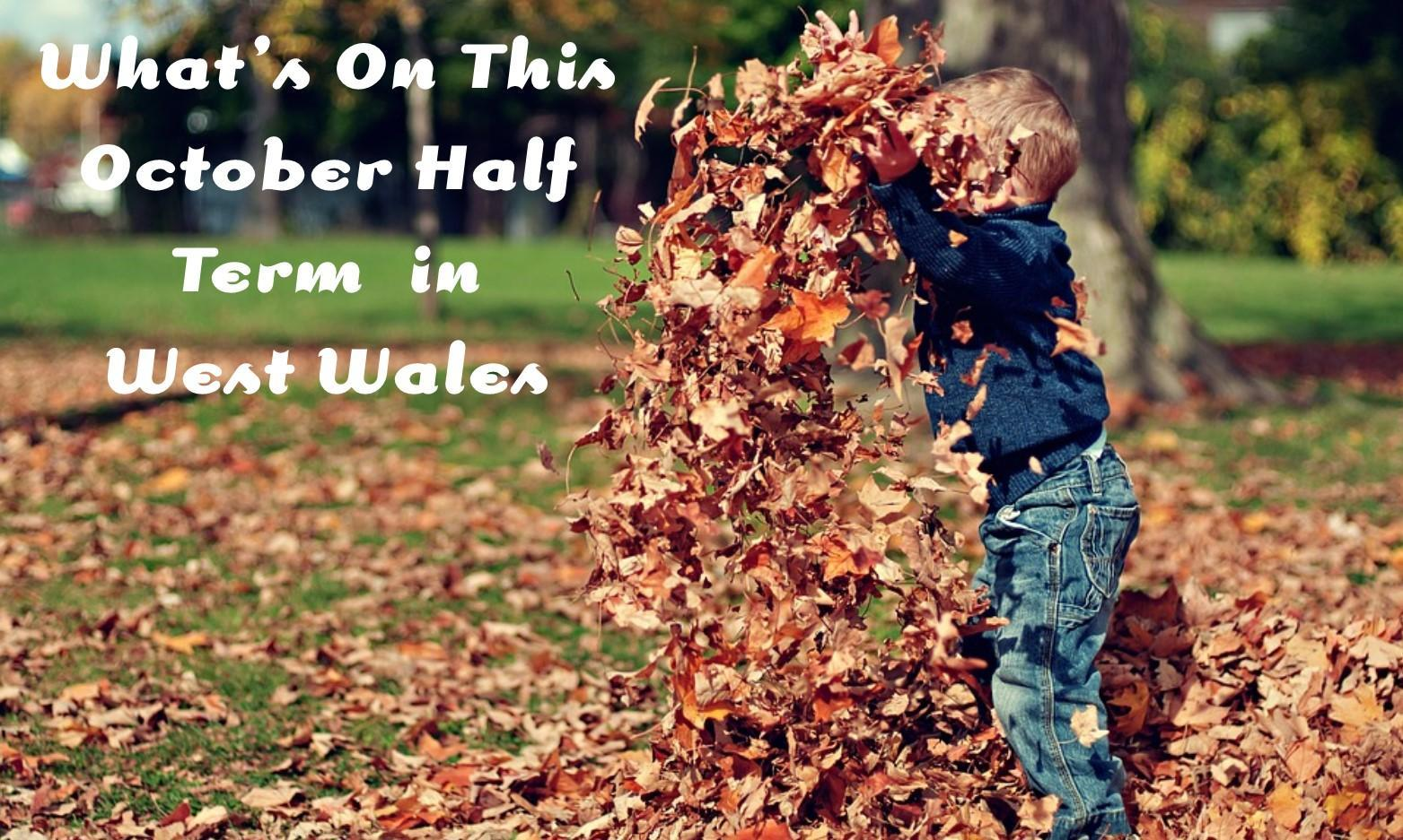 October Half Term Events in West Wales 2018