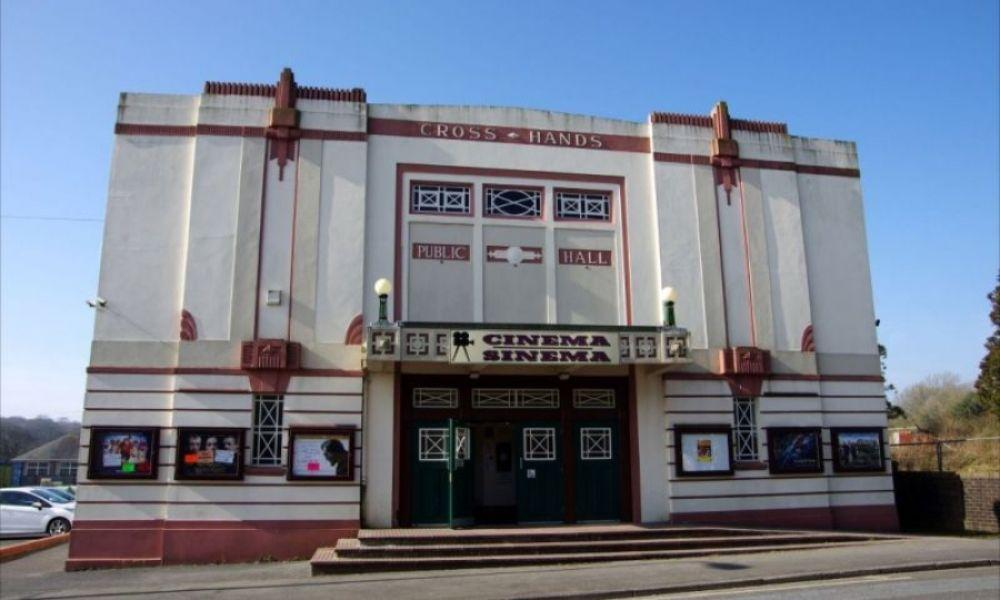 Cross Hands Public Hall and Cinema in Carmarthenshire