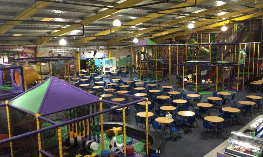 The Play King Soft Play and Trampoline Centre in Llanelli Carmarthenshire