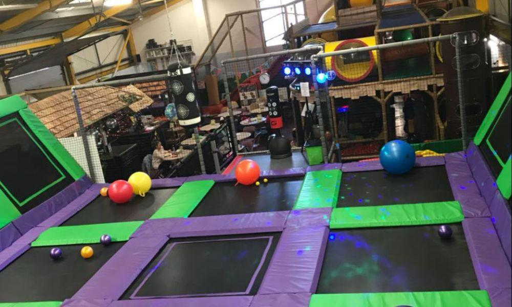 Toots Soft Play and Trampoline Park in Neath