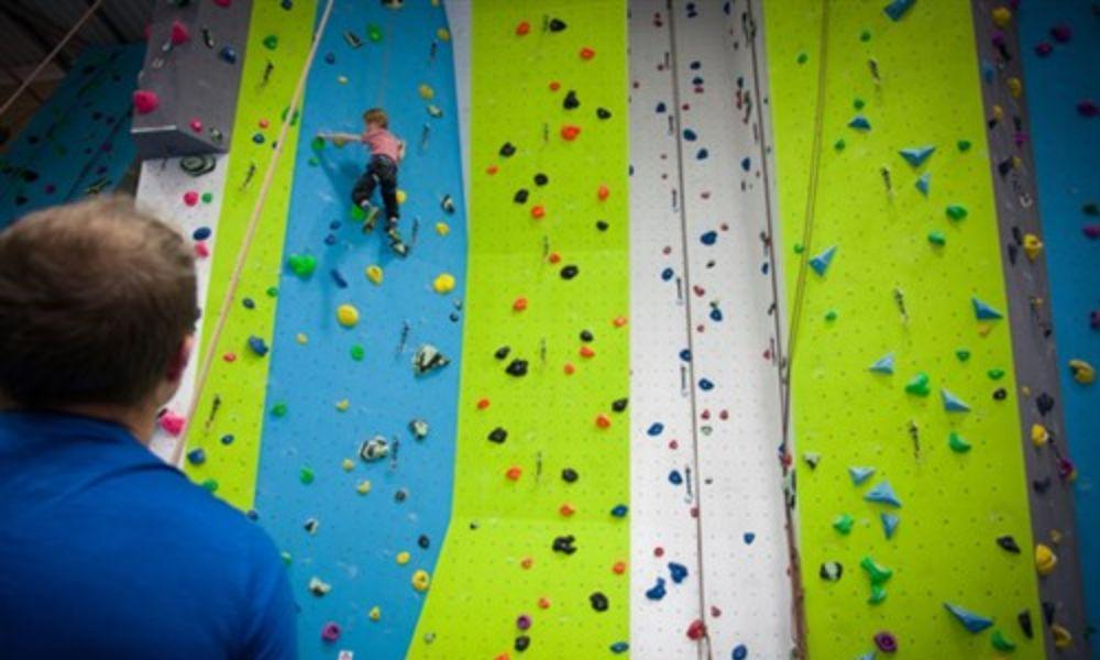 The Hangout Indoor Climbing Wall