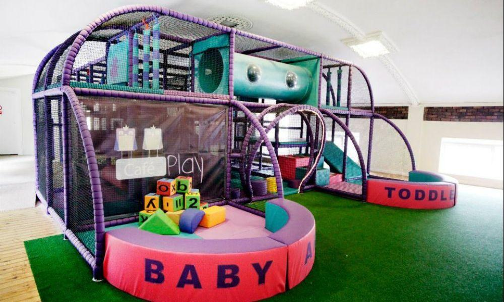 The Café Play Mumbles soft play centre in Swansea