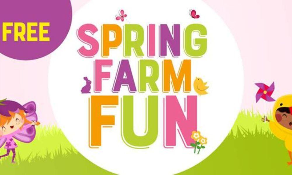 Spring Farm Fun in Carmarthen
