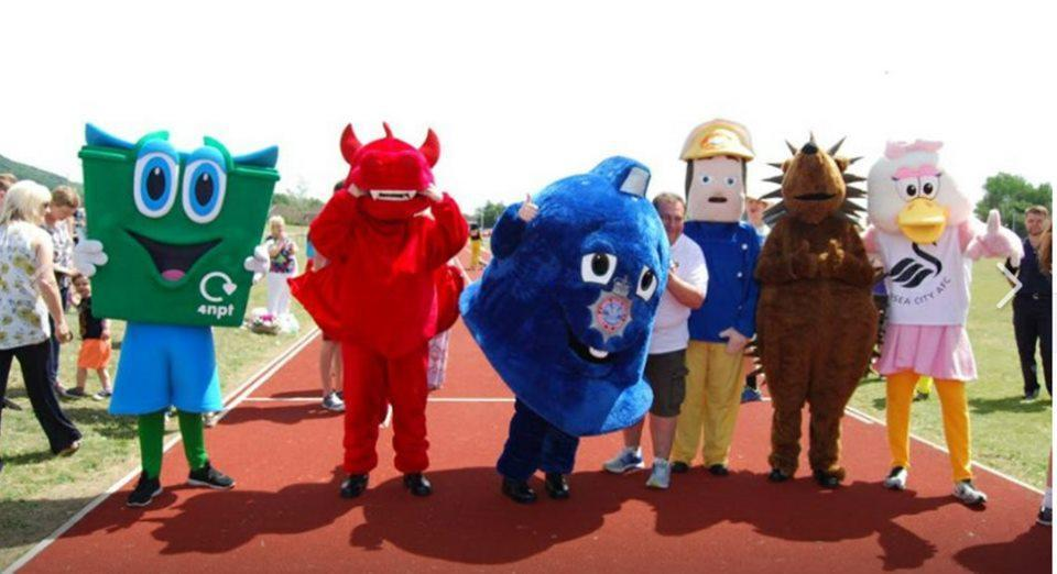 Emergency Services Mascot Race