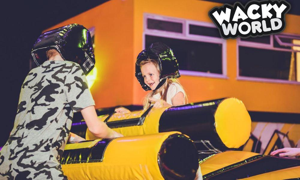 LATEST NEWS Giant Inflatable Total Wipeout Arena