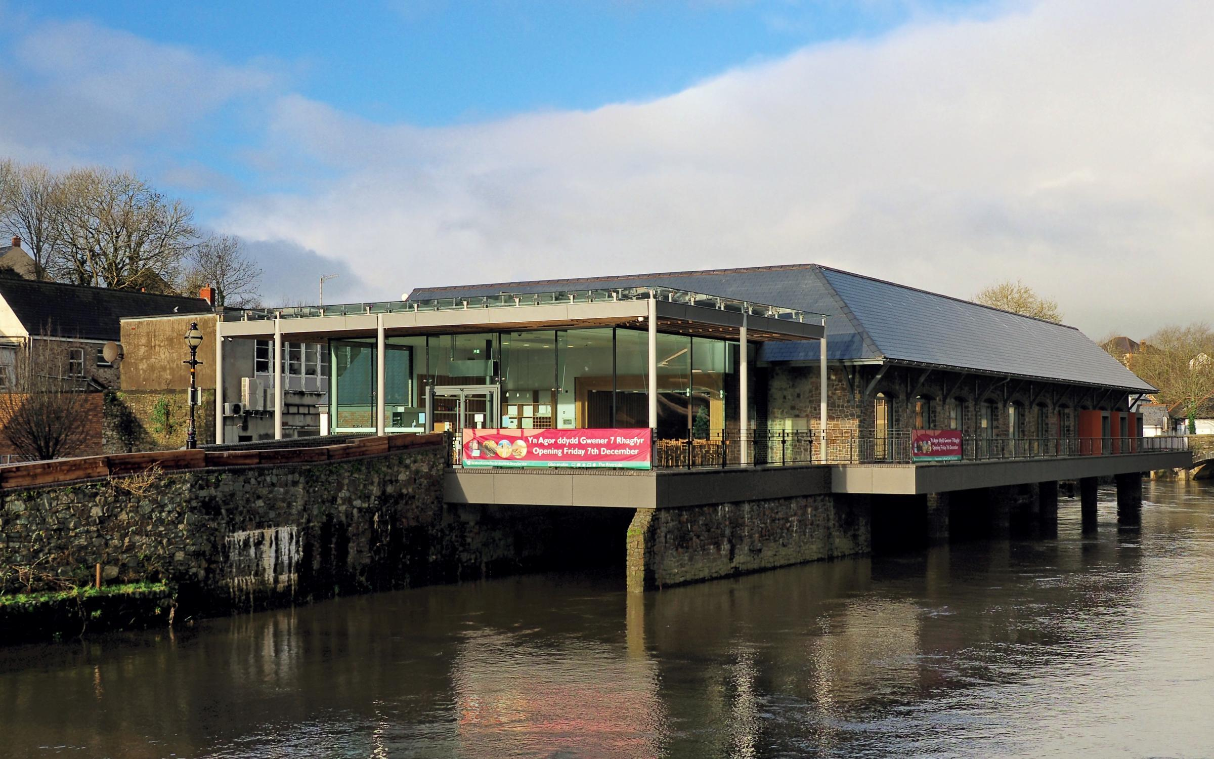 See Inside Haverfordwest's New Glan-yr-afon Cultural Centre