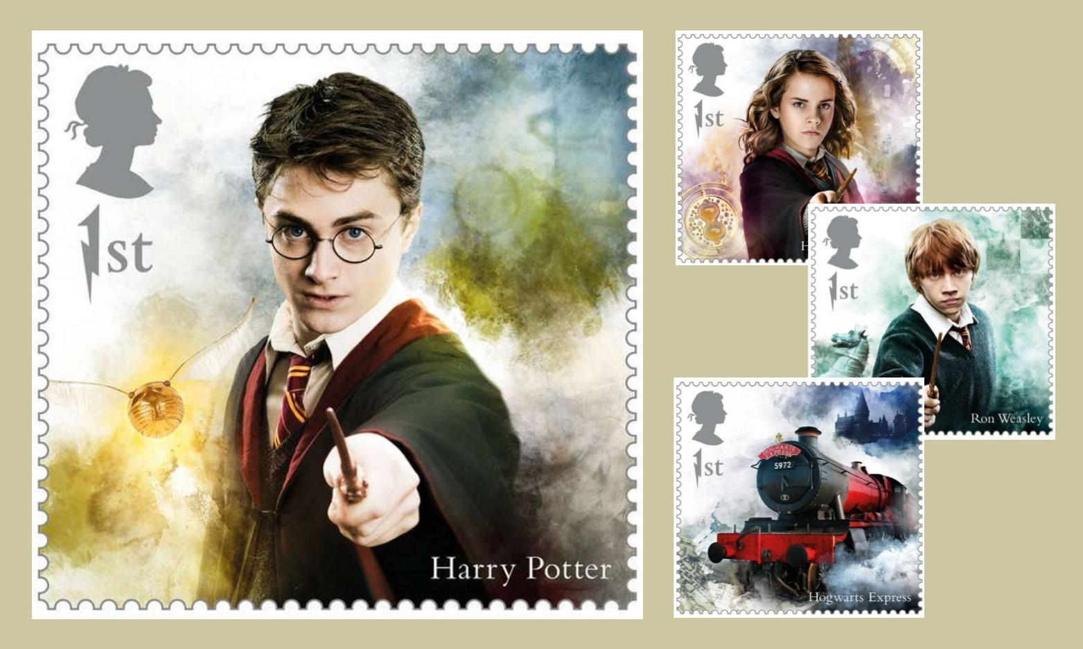 Where to Buy and Who is Featured on the Limited-Edition Harry Potter Stamps